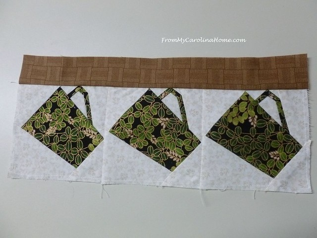Teacups Quilt Along at From My Carolina Home