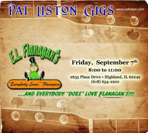 Pat Liston 9-7-18