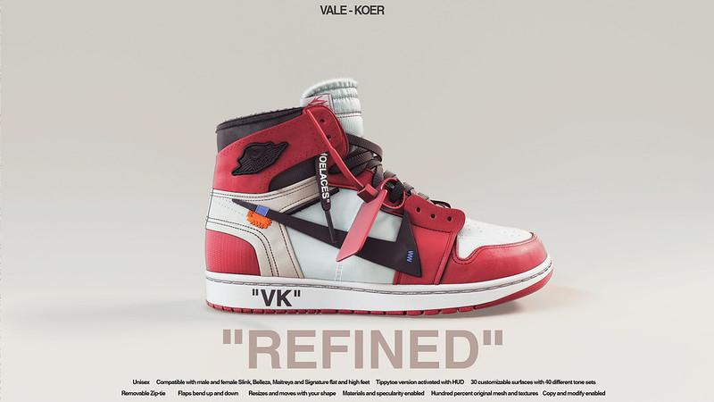 """[VALE KOER] """"REFINED"""" DUNKS"""