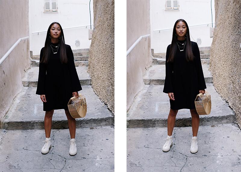 téva sartori robe noire mango converse panier cult gaia 2