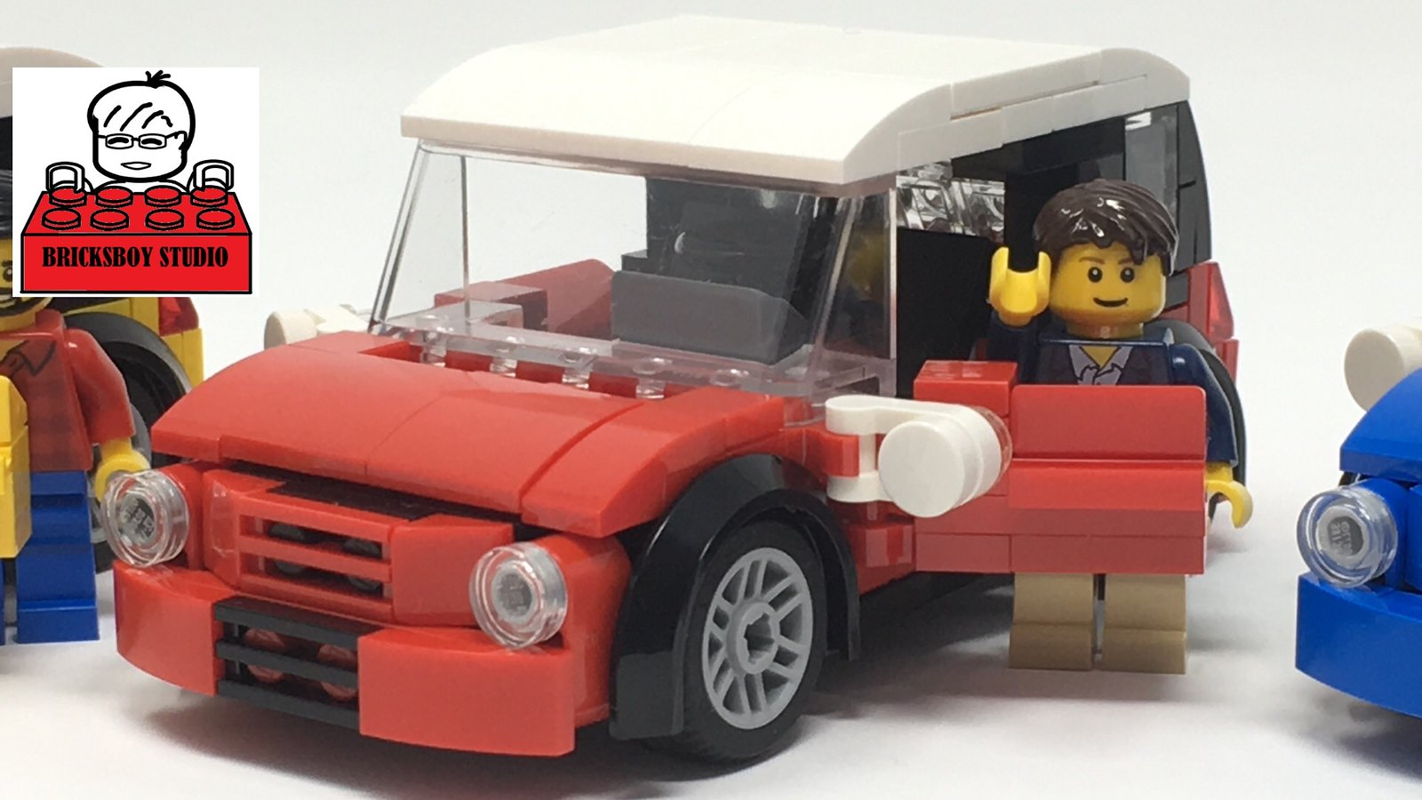 [MOC] LEGO Mini Cooper Stop Motion Speed Build