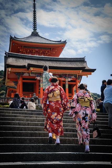 Higashiyama en Kimono