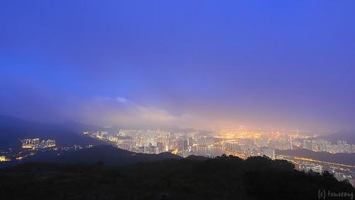 Shek Lung Kung at twilight
