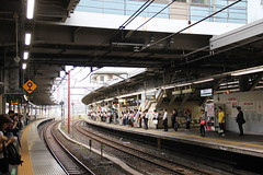 Shinagawa train station