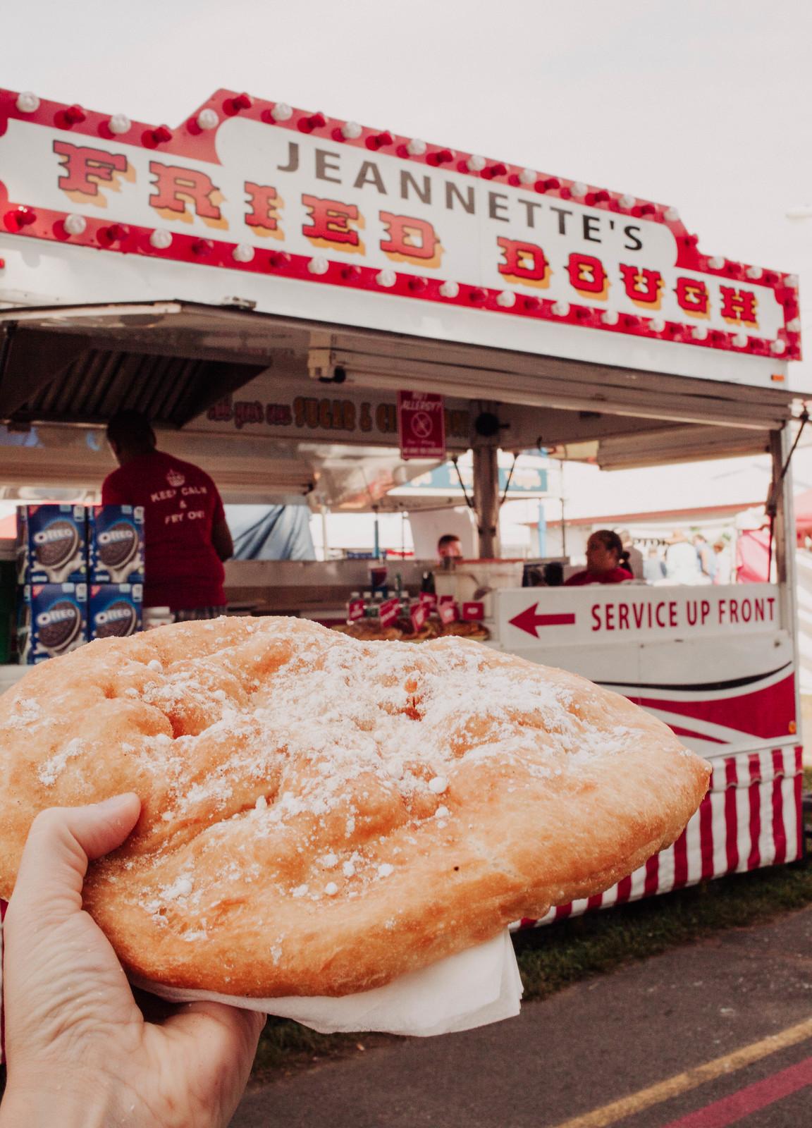 Fried Dough County Fair
