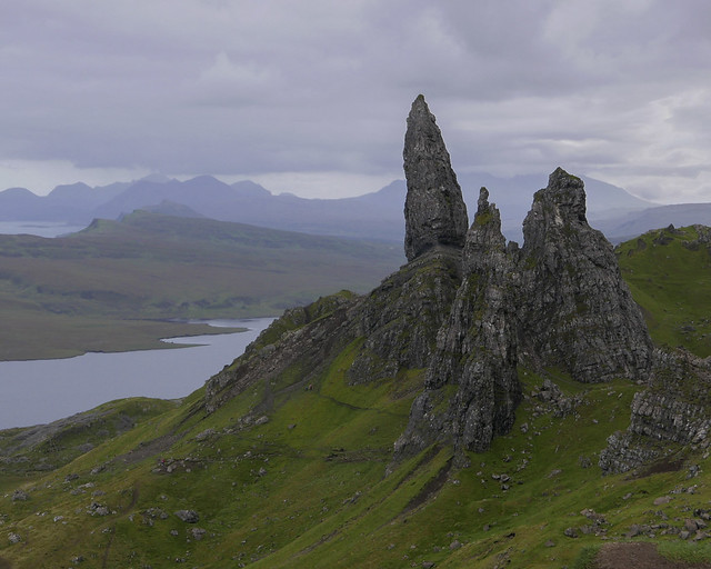 Scotland; The old man of Storr