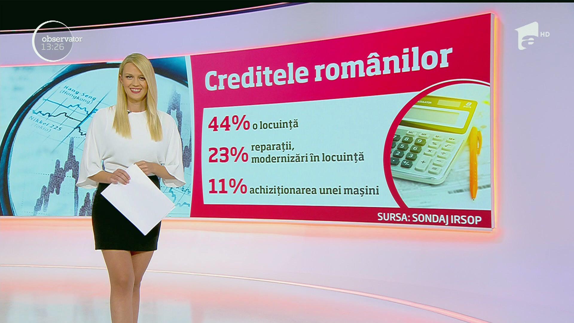 Blonda de la credite
