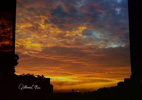 atardecer nubes colores sanmiguel lima perú maríatere7 nwn