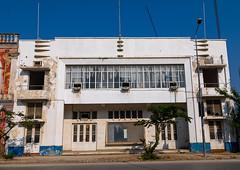 Old portuguese colonial movie theatre, Benguela Province, Lobito, Angola