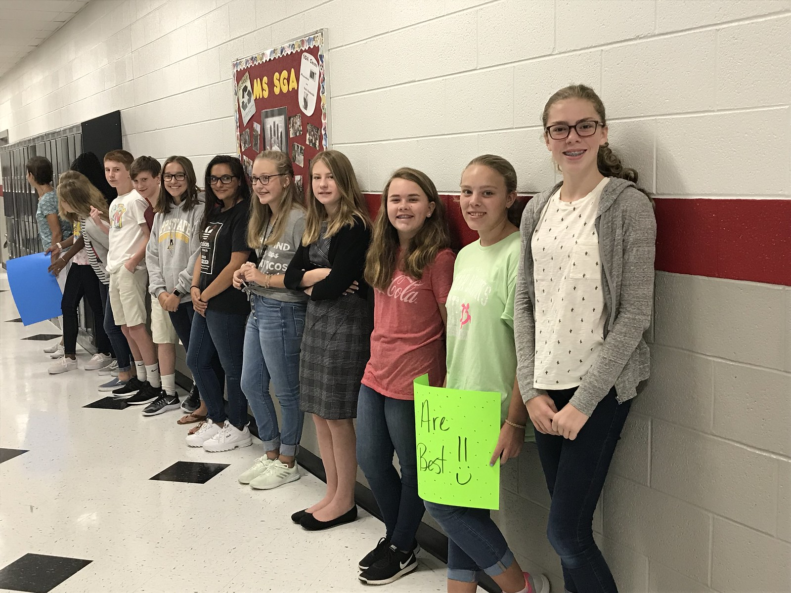 2018 Middle School welcomes 6th graders