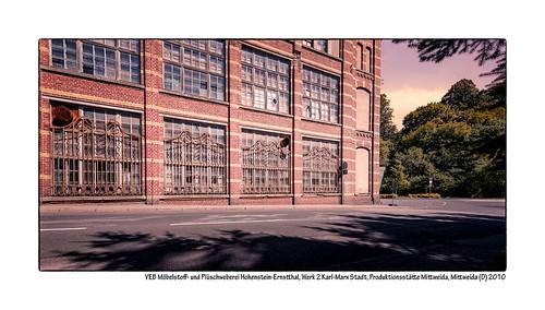 VEB-Möbelstoff--und-Plüschweberei-Hohenstein-Ernstthal,-Werk-2-Karl-Marx-Stadt,-Produktionsstätte-Mittweida,-Mittweida-(D)-2010