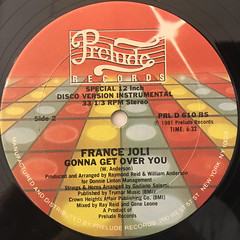 FRANCE JOLI:GONNA GET OVER YOU(LABEL SIDE-B)