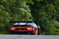 IMSA Weathertech racing at Lime Rock Park in July 2018