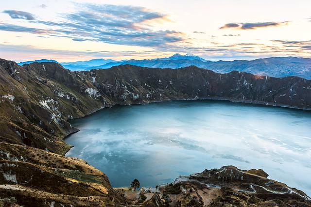 5 vulkanen Ecuador