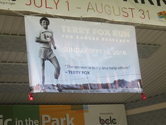 Terry Fox Run Banner (Sept 16, 2018)