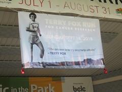 Terry Fox Run Banner (Sept 16, 2018)