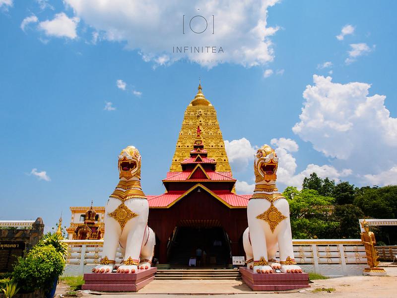 Chedi Phutthakhaya, Sangkhlaburi, Thailand