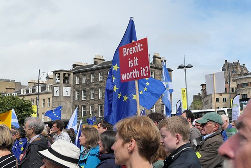 People's Vote March, Edinburgh
