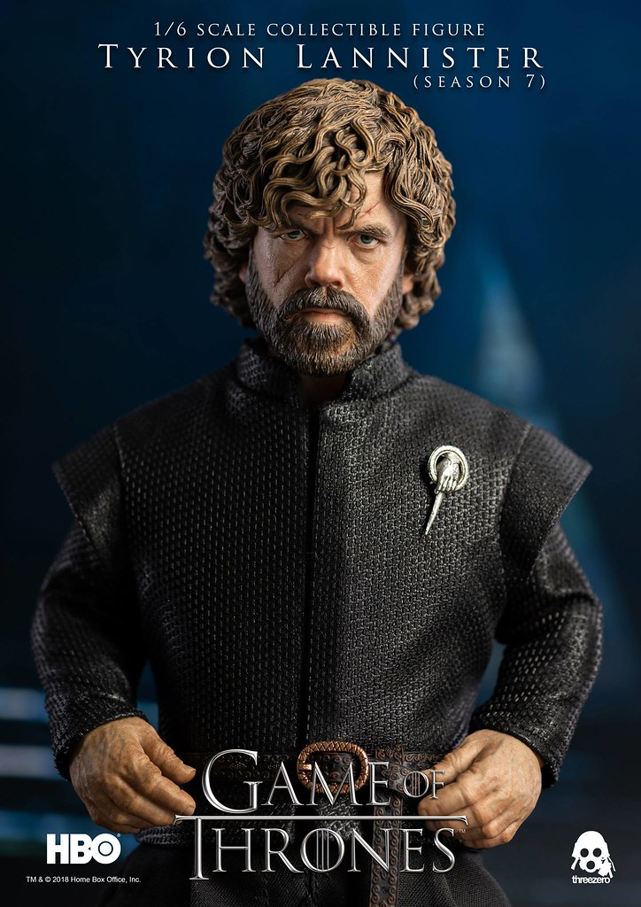 Tyrion Lannister (Season 7) 1/6 Scale Action Figure by Threezero