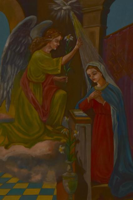 Fresco Annunciation