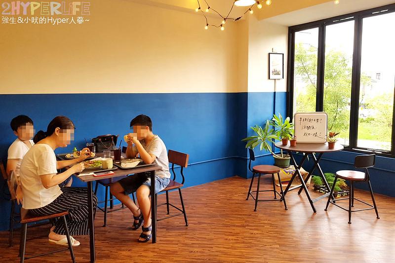 台中中區早午餐,台中早午餐,台中美食,早捌,早捌 x 柳川 @強生與小吠的Hyper人蔘~