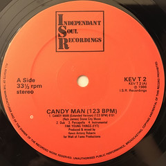 FINE YOUNG THING:CANDY MAN(LABEL SIDE-A)