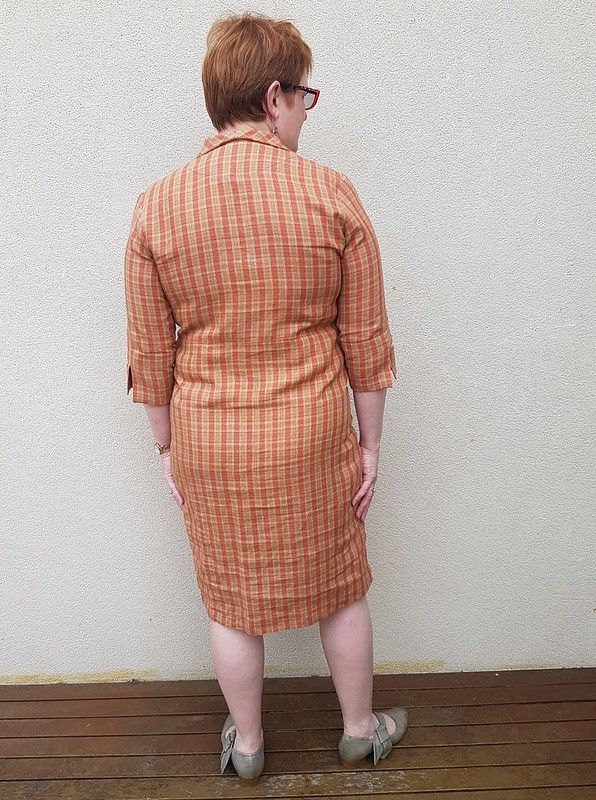 Hot Patterns Jermyn St Shirtdress in linen