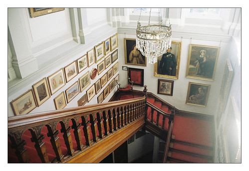 Castle Leslie Staircase