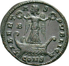 Constantine I Follis obverse
