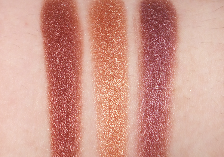viseart tryst eyeshadow palette swatches row 3