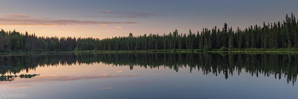 Lake panorama - Alaska