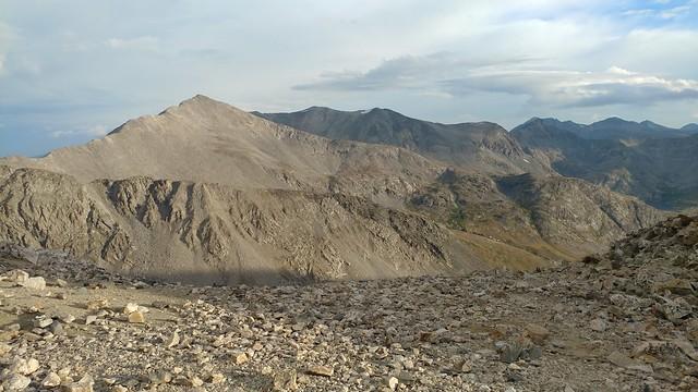 Clinton Peak and Bartlett Mountain