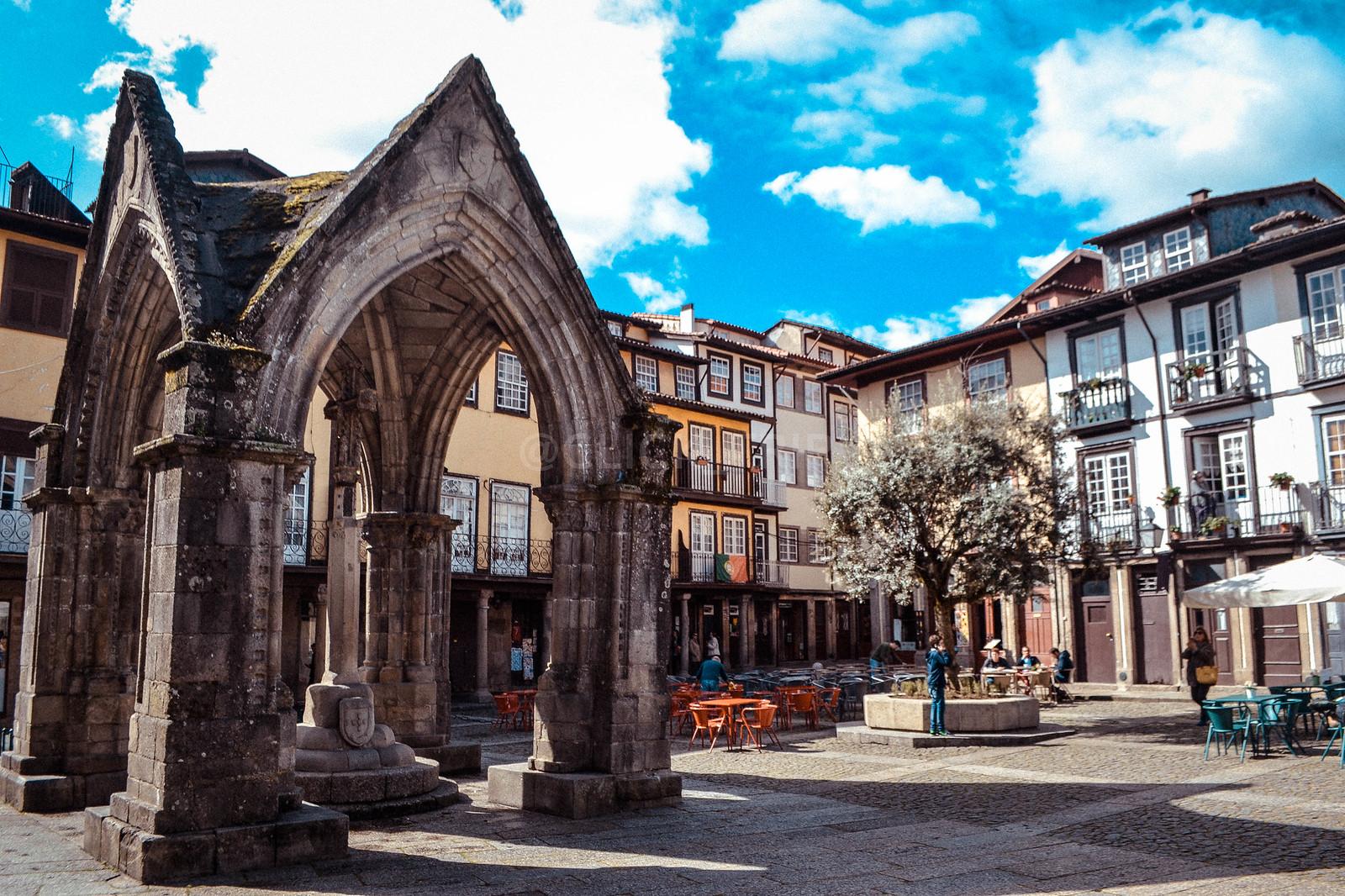 · Qué ver en un día en Guimaraes · Plaza Oliveira, imprescindible de Guimaraes ·