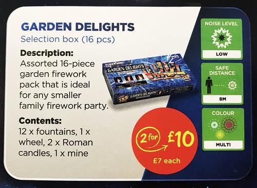 £7 ASDA PRICE - GARDEN DELIGHTS SELECTION BOX