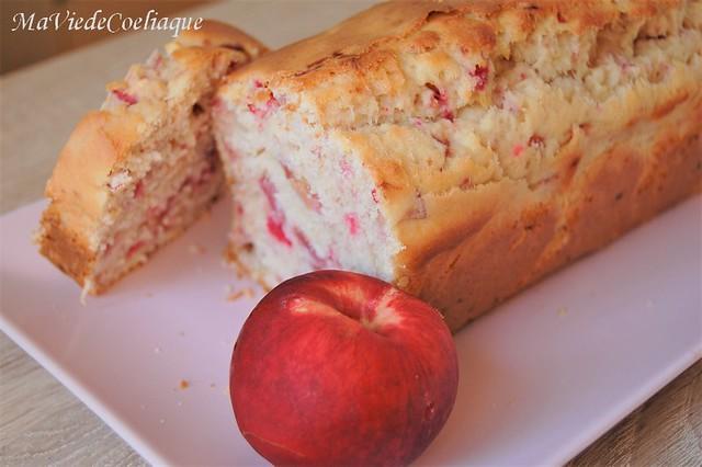 cake pêche abricot sans gluten sans lactose