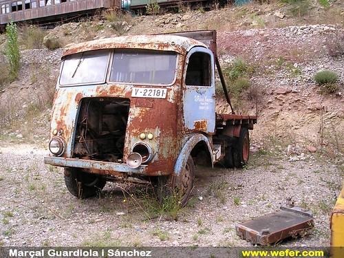 camió cabina artesanal Museu del Transport