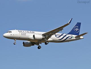 F-WWIM Airbus A320 Saudia