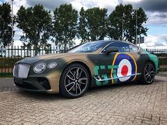 Bentley Continental GT - Spitfire livery