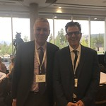 Bill Ghali, director of the O'Brien Institute for Public Health and Michael Schull, CEO at ICES.