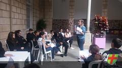 7º ano EF II participa de aula expositiva no pátio
