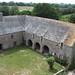 Château de Pirou : les communs