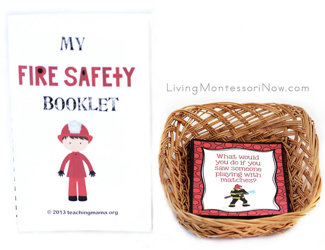 My Fire Safety Booklet and Fire Safety Task Cards