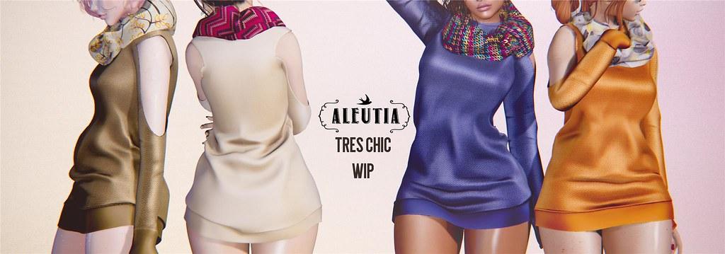 [Aleutia] Tres Chic WIP♥