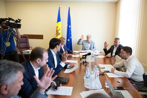 19.09.2018 Ședința Comisiei securitate națională, apărare și ordine publică