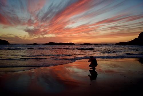 Sandy Reflection