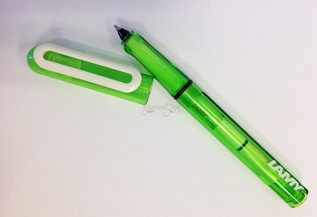 Lamy Balloon Lime Cartridge Pen 2