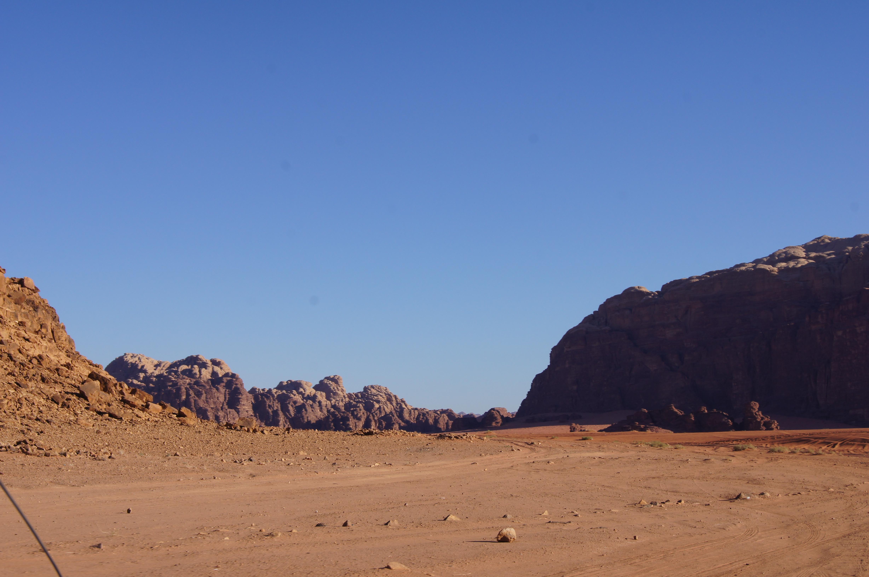 wadi rum - landscape