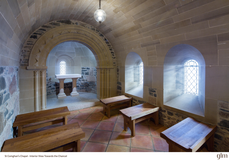 St Comghans Chapel Kilchoan - Interior 1 (Photo Credit Kevin McCollum)