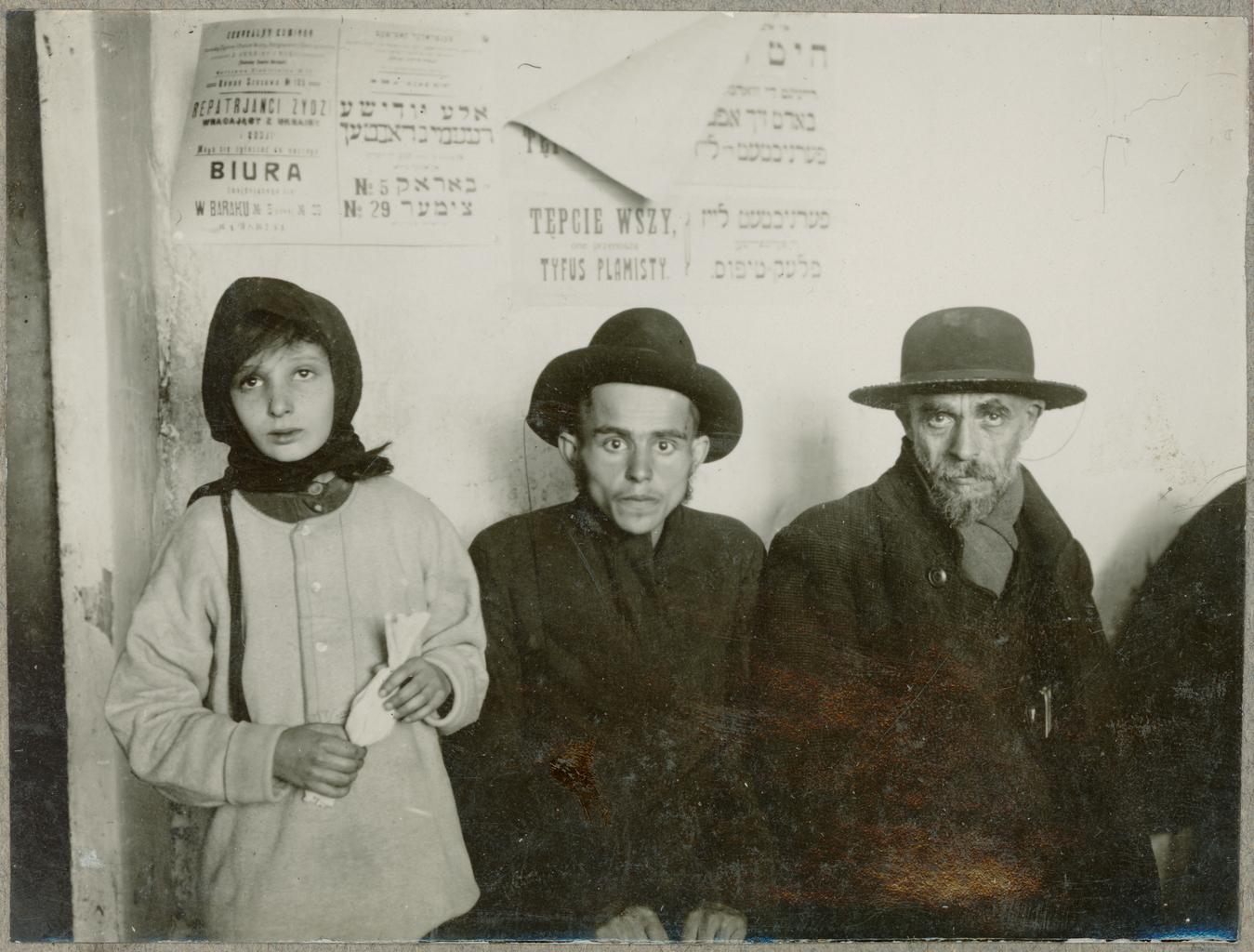 Еврейские беженцы в Ровно, Польша