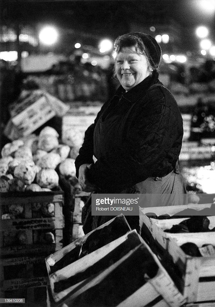 1968. Торговка овощами в Ле-Аль